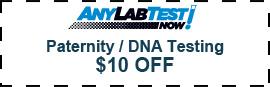DNA Testing Coupon